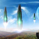 Alien Visitors - HD Wallpaper